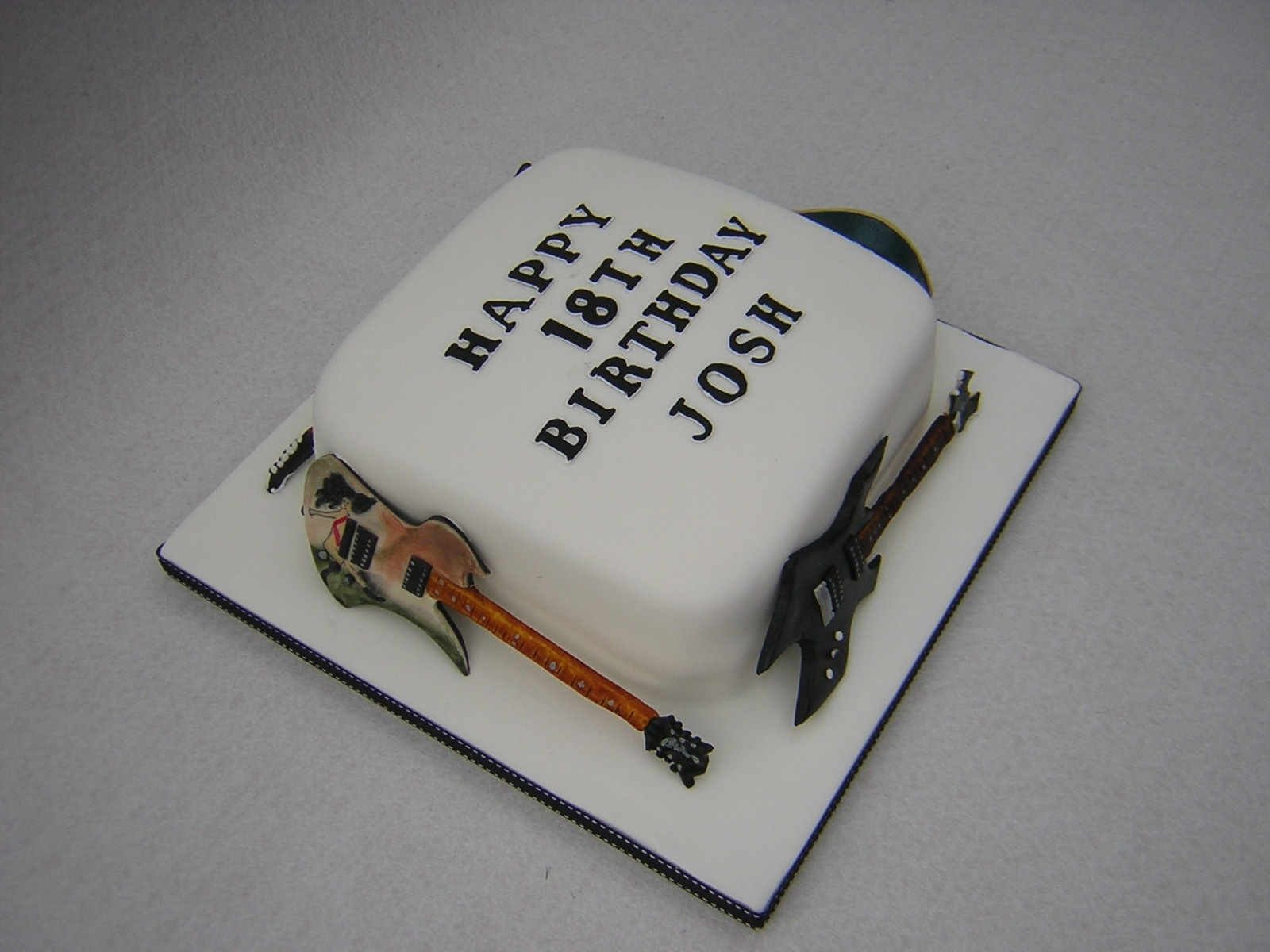 Birthday Cake Guitar Design With Name : Index of /wp-content/gallery/birthday-cakes-18th-amp-21st