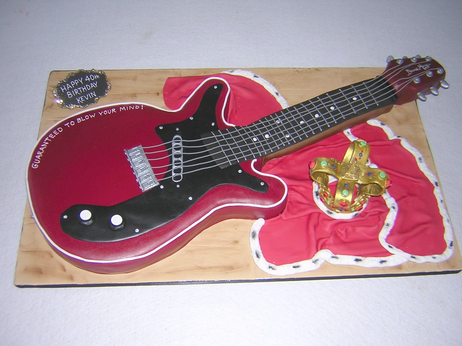 Birthday Cake Guitar Design With Name : Index of /wp-content/gallery/birthday-cakes-men