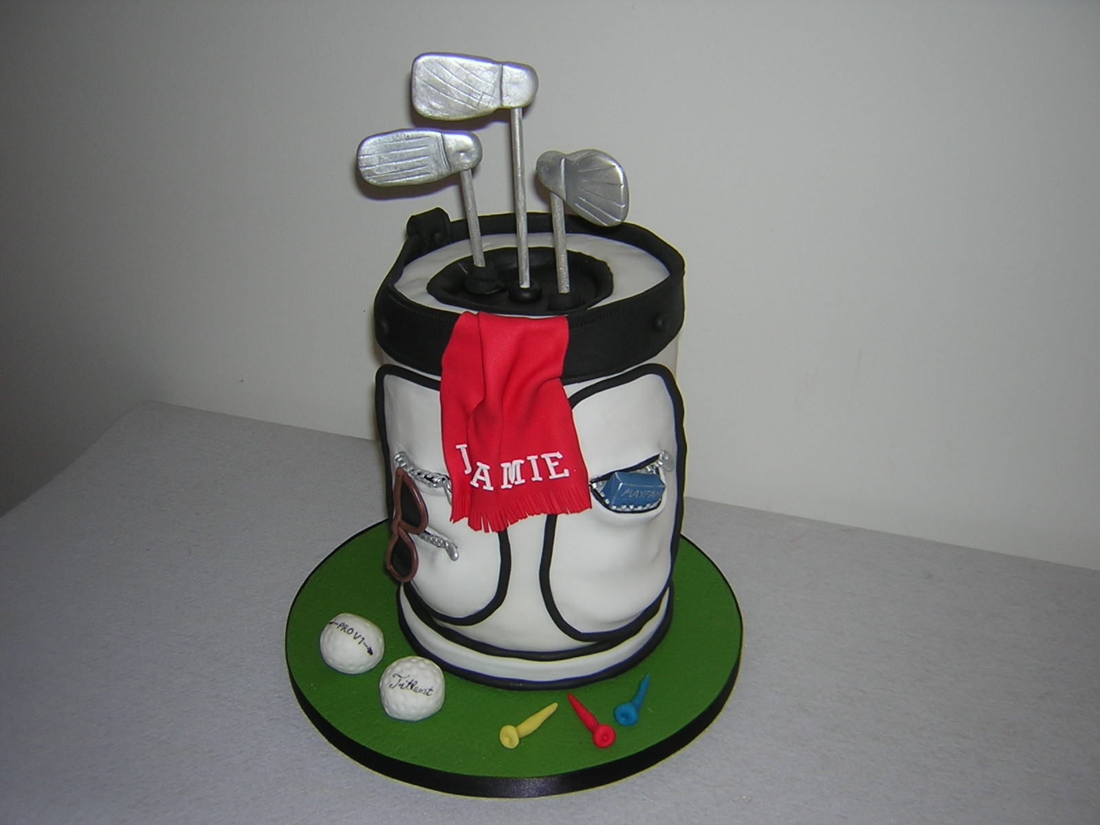 Golf Bag Cake Images : Golf Bag Cake Happy Pictures to Pin on Pinterest - PinsDaddy