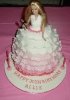 Julie's Barbie Dress Birthday Cake