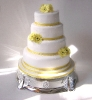 julies-yellow-flowers-fourtier-wedding-cake