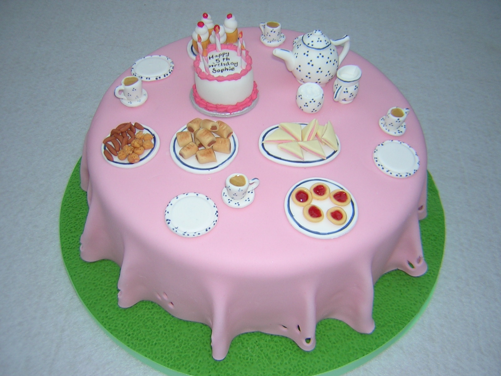 Tea Time Cakes - Julie s Creative CakesJulie s Creative Cakes