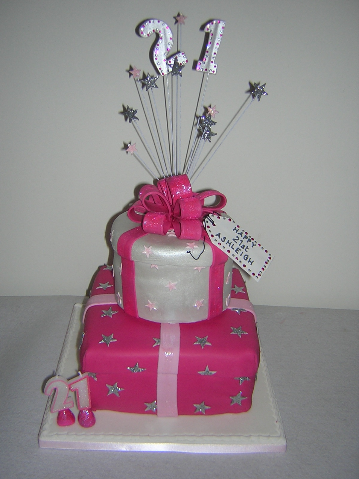 bright-pink-and-silver-parcels