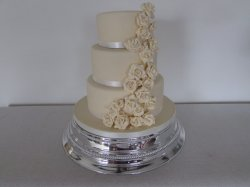 white chocolate 3 tier